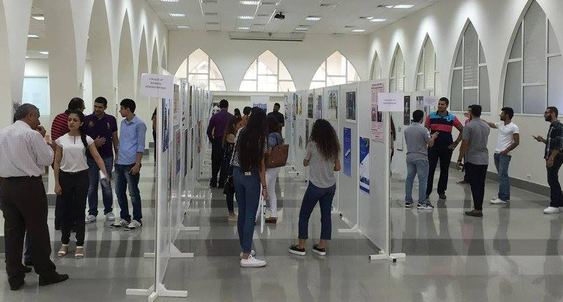 RHU holds its 10th Annual Co-op Poster Exhibition