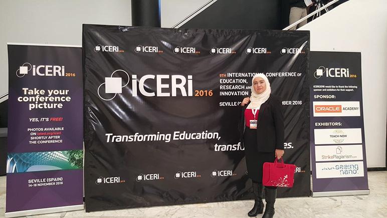 RHU faculty member presents a paper in IATED 2016
