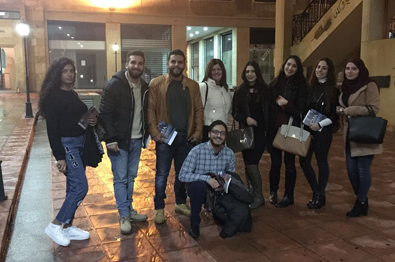 RHU students attend a seminar on investment decisions