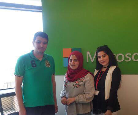 RHU team to the final round of the Microsoft Imagine Cup National Competition
