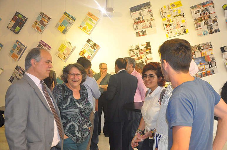 RHU holds its 7th annual Graphic Design Exhibition GALAXIA