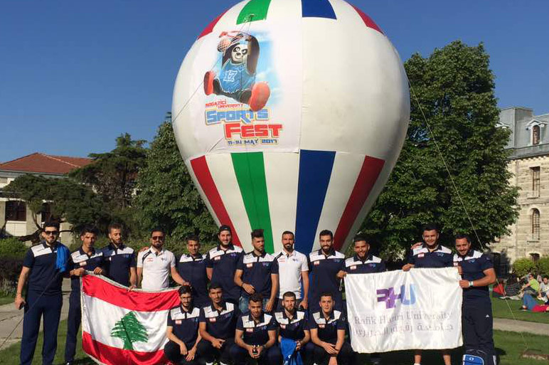 RHU Athletic teams participate in the Universities International Tournaments in Turkey