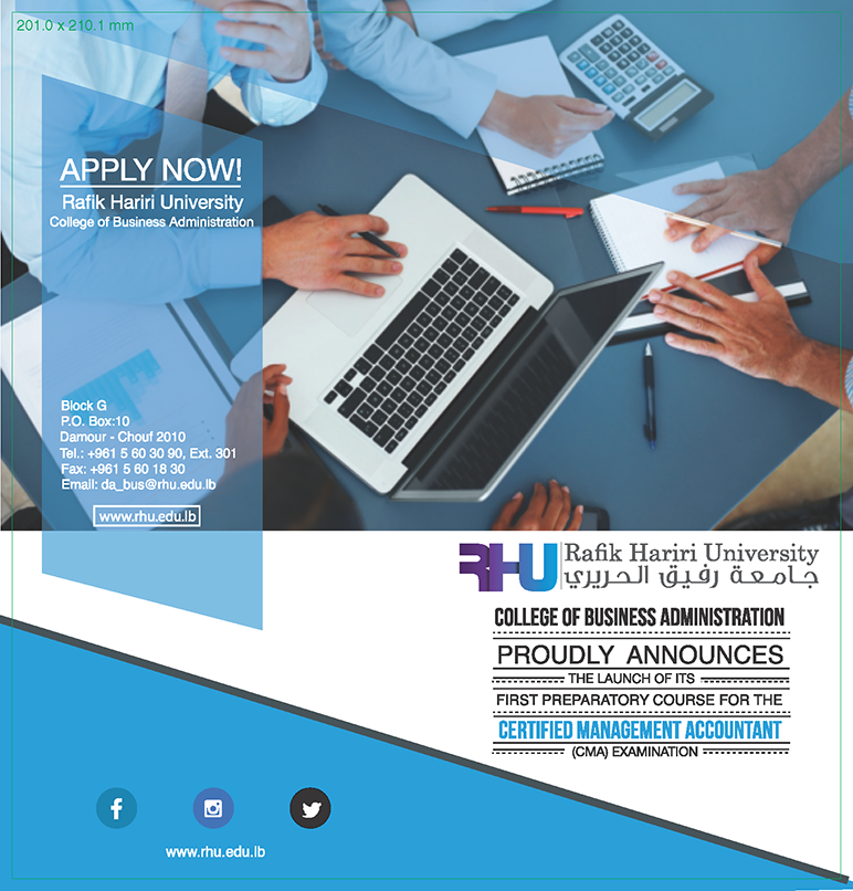 RHU announces the launch of the CMA Examination preparatory course