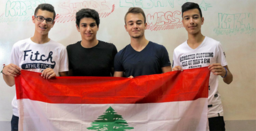 RHU coached Team Lebanon wins in the First Global Robotics Challenge