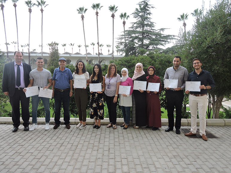 Eight accounting students receive CMA Scholarship after completing RHU CMA Preparatory course
