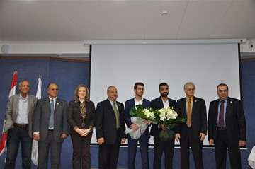 Rafik Hariri University honors two young innovators from Lebanon