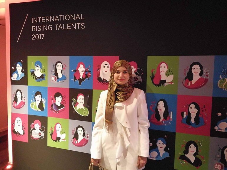 RHU alumna receives L'Oréal-UNESCO For Women in Science (FWIS) Rising Talent Award