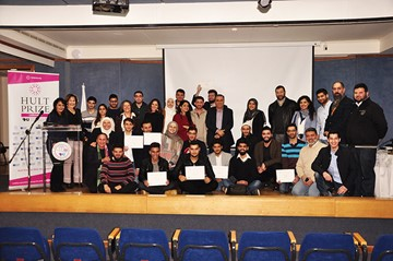 Three teams emerge as winners of RHU Hult Prize Final Event