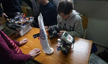 RHU Student Technology Club achieves a massive win in the National Robogames