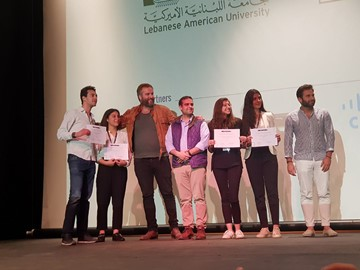 RHU's Business Student Team: Big Winner of the LAU's Case Competition