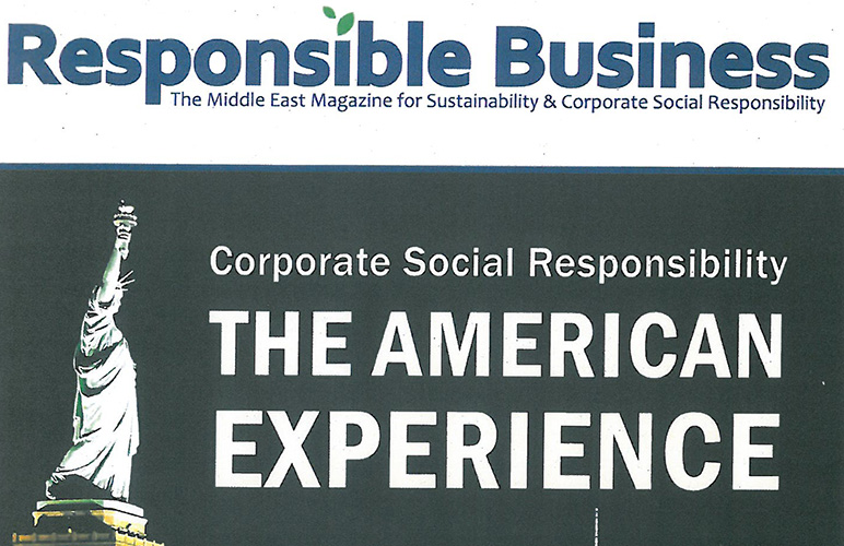 Responsible Business Magazine highlights RHU's Commitment to Sustainability