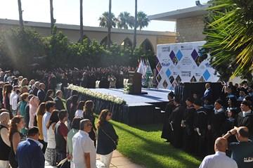 RHU dedicates its 2018 cohort of graduates to peace
