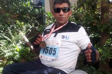 Special needs athlete dedicates his courageous win to Rafik Hariri University