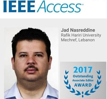 RHU engineering faculty member is a 2017 IEEE Access Outstanding Associate Editor