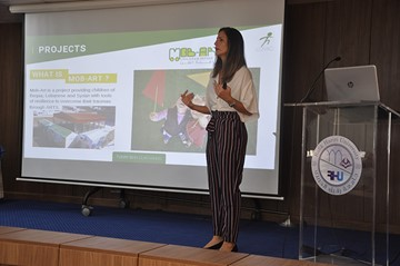"""Why social entrepreneurship"" in a seminar by RHU Engineering Societies"