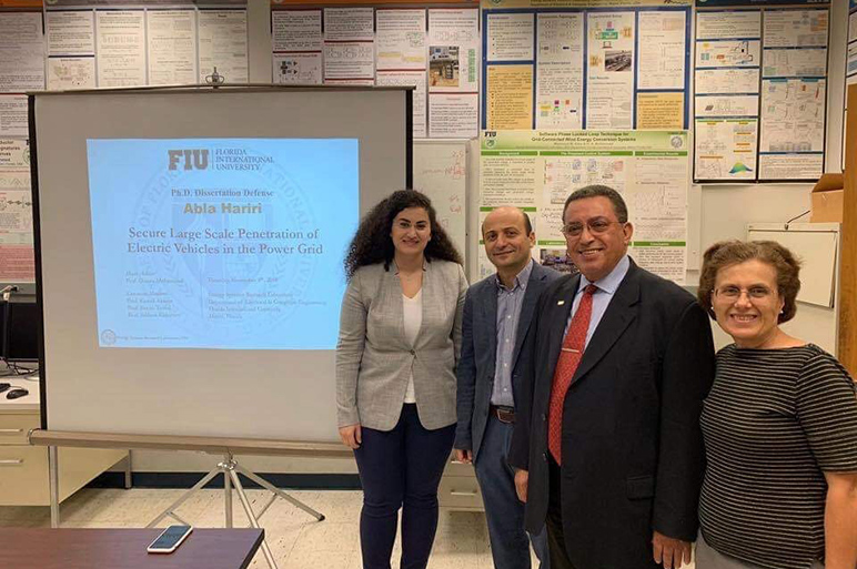 RHU alumna successfully defends her Ph.D. dissertation, outcomes of which is a patent pending and several IEEE transactions and conference articles