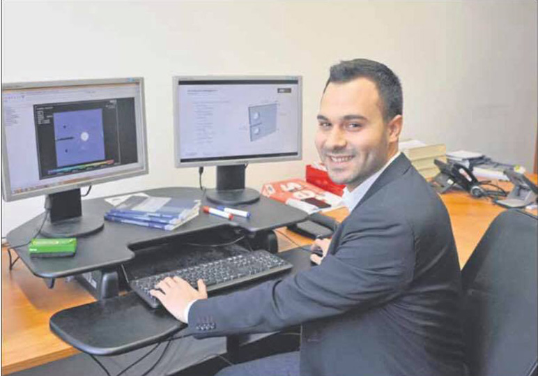 RHU alumnus Jad Khodor to receive the Lohrmann medal as the best graduate of civil engineering in TU Dresden