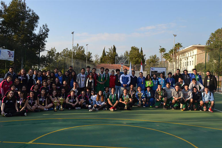 RHU 6th Annual Athletics High school Tournament: 11 schools compete and 300 students compete