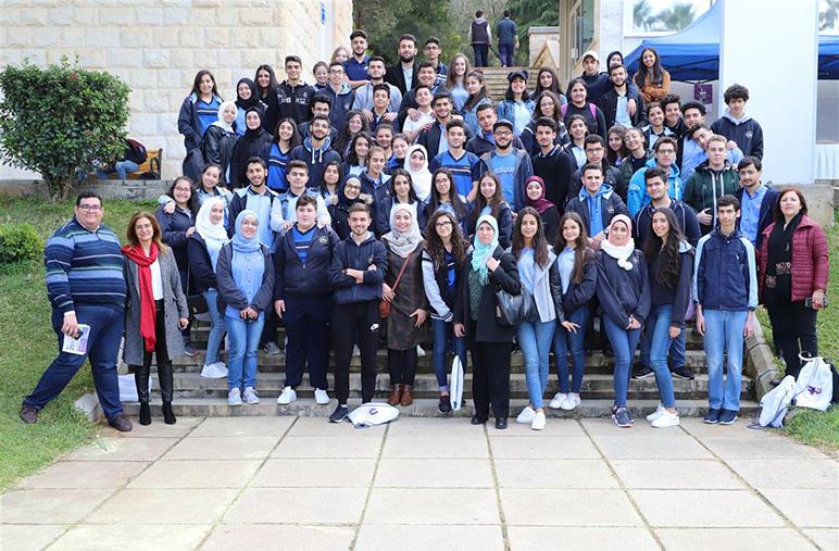 Half a day orientation for Hariri High School II students at RHU