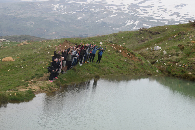 RHU hiking trip raises awareness about preserving the environment
