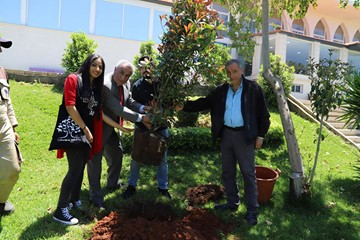 RHU celebrates the 2019 Earth Day advocating the conservation of Lebanese Wildlife