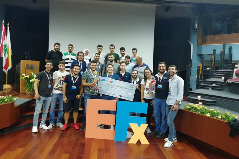 Glorious win for the ASME - RHU teams in the ASME EFx Mechatronics Competition