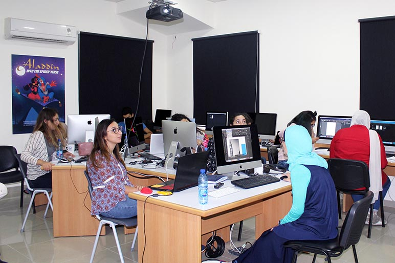 RHU Adobe InDesign Workshop enhances students' technical skills in the field of graphic design