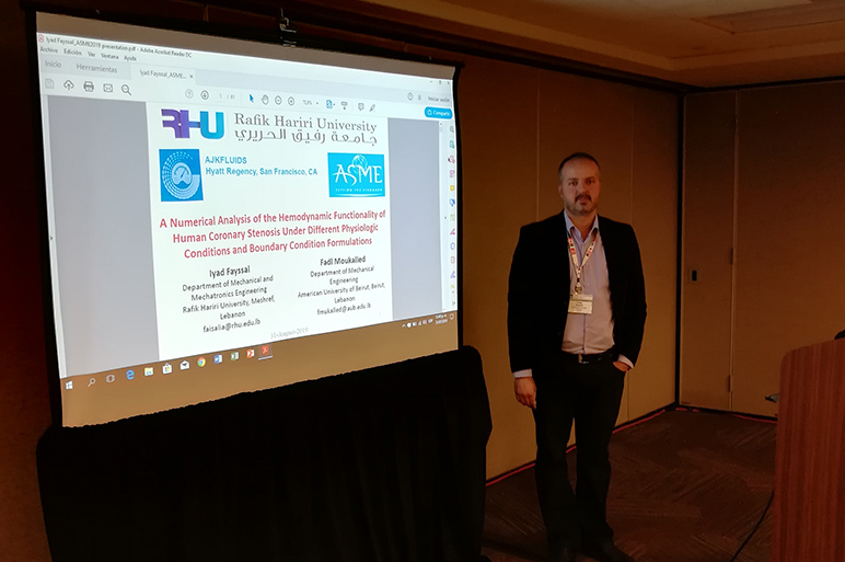RHU faculty presents at international conference