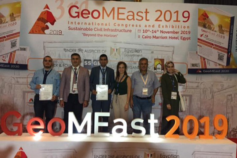 RHU presents and publishes at the 2019 GeoMeast