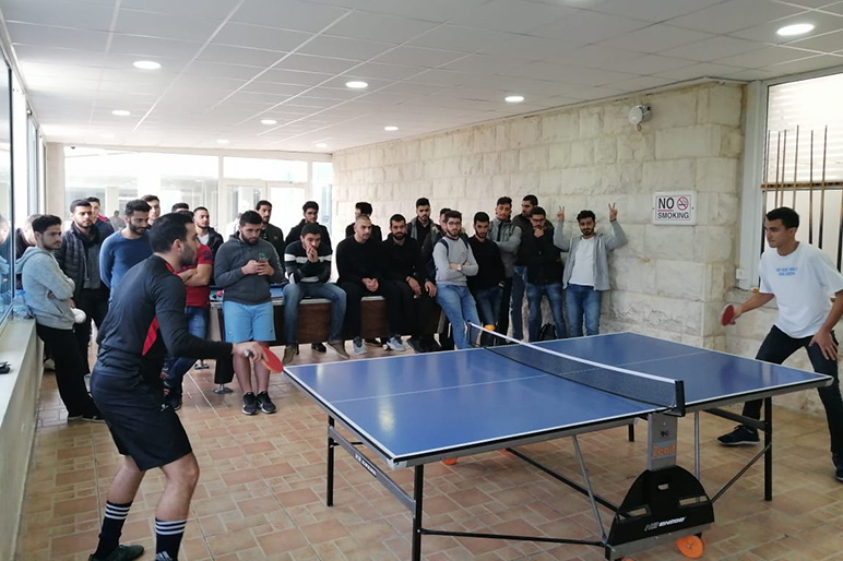 An exciting final game announces the winner of RHU table tennis tournament