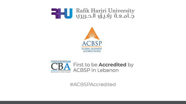 RHU College of Business Administration first in Lebanon to obtain ACBSP accreditation in all its programs