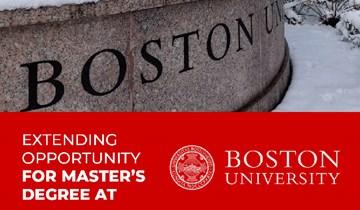 RHU extends opportunity for Master's Degree at Boston University