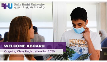 RHU runs rolling admission and ongoing registration for new students until the semester begins