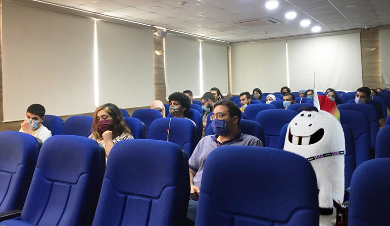 RHU event encourages students to participate in the THU Sony Talent League