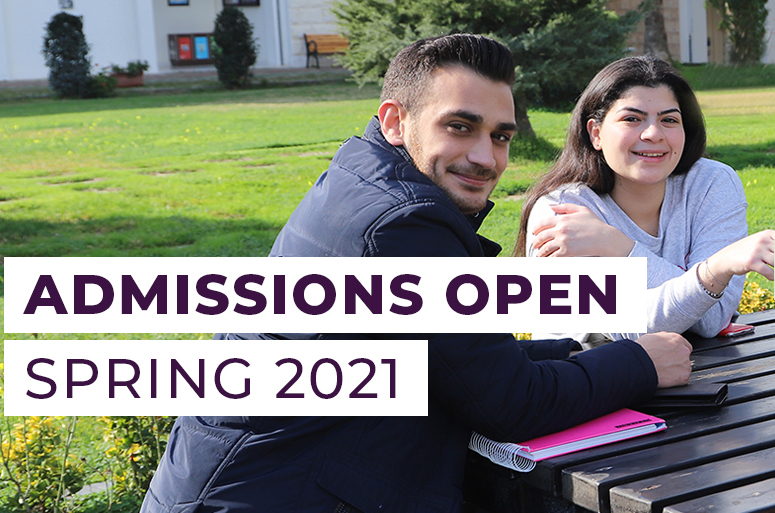 Admissions is Open to Spring 2021