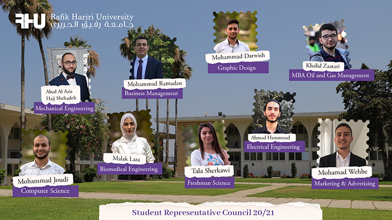 Around 74 percent of eligible voters elected RHU's 2020-2021 Student Representative Council