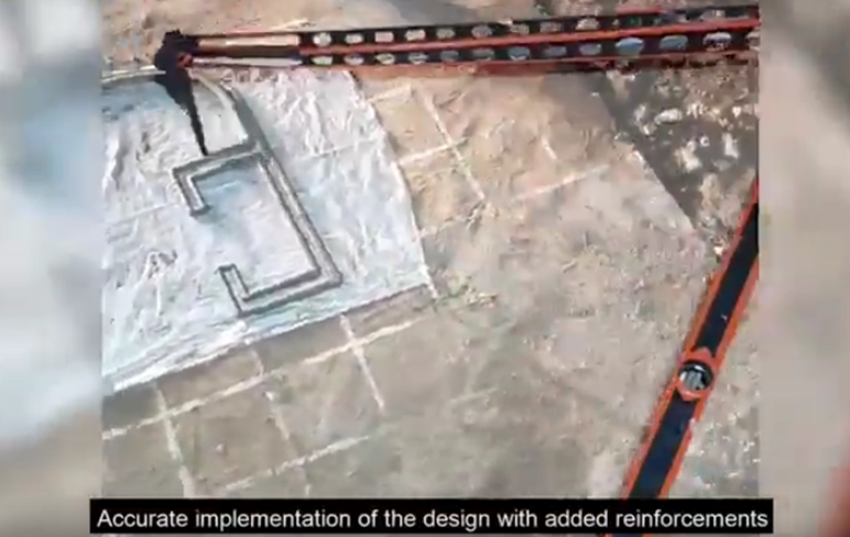 RHU engineering alumni develop a 3D printer that can build a predesigned house