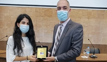 RHU team wins the first place award at the 2021 IEEE Lebanon Biomedical Student Competition