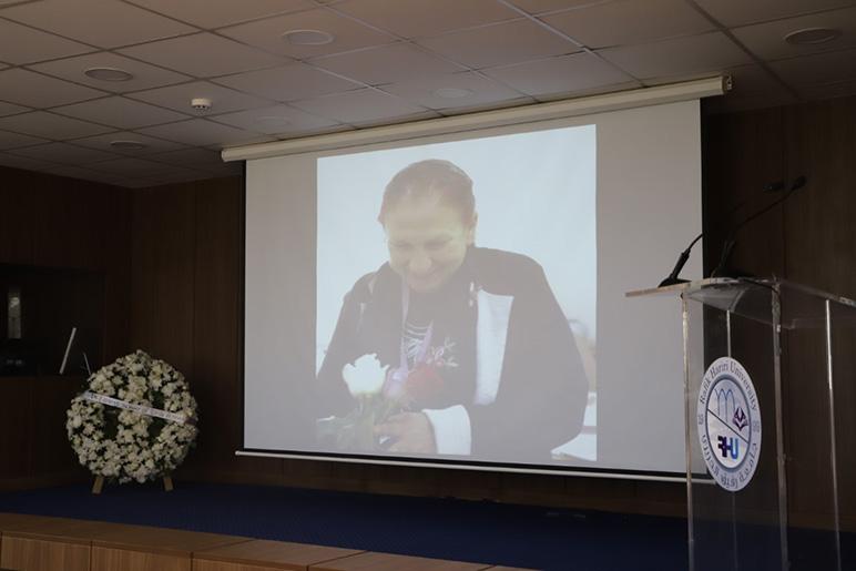 RHU community gathers to mourn Professor Leila Ayoub