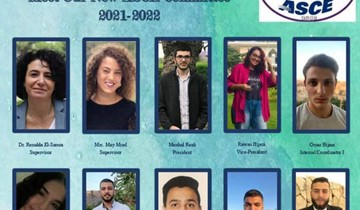 The RHU ASCE Student Chapter selects its Board of Members
