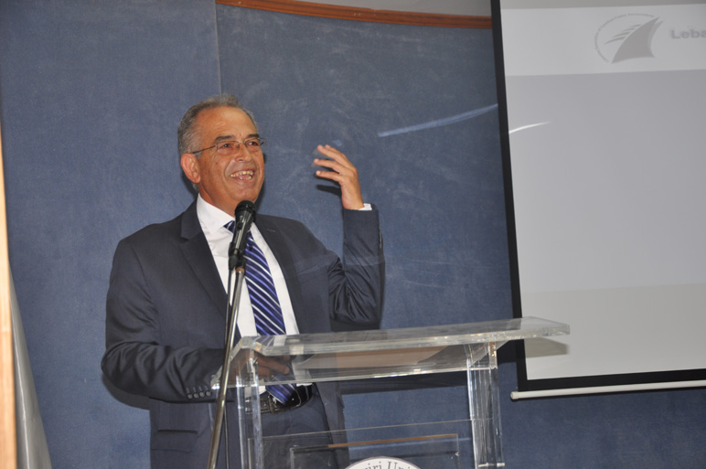 CBA Monthly guest speaker Mr. Abdel Baki